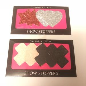 Victoria's Secret Show Stoppers Pasties 4 Pair NEW